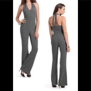 Guess By Marciano gray open back jumpsuit size 0